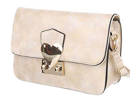 Damen Tasche, Schultertasche, Kleine Used Optik Umhängetasche, Kunstleder, TA-6160-29