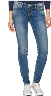 LTB Jeans Damen Slim Jeans Clara