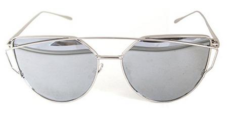 RetroUV® Sonnenbrille Silber