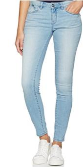 TOM TAILOR Damen Jeanshose Light Blue Skinny Ankle