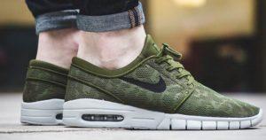Nike SB Stefan Janoski Max in Legion Green für Herren