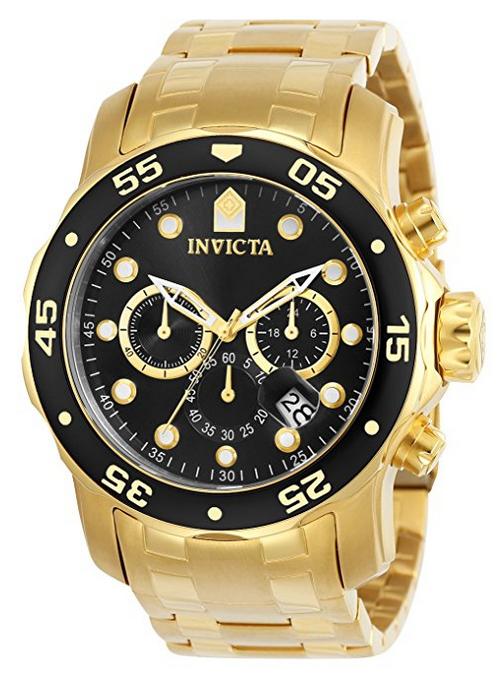 Invicta Herren-Armbanduhr Quarz Chronograph