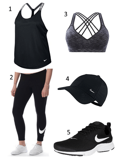 Damen Gym Outfit