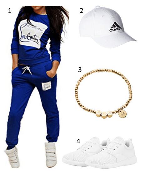 Damen Jogginganzug Outfit