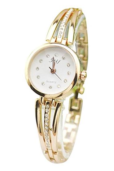 Gosear goldene Armbanduhr