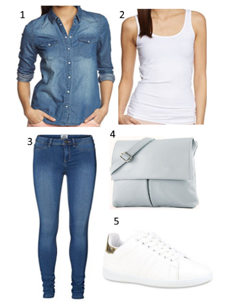 Jeansblue Outfit