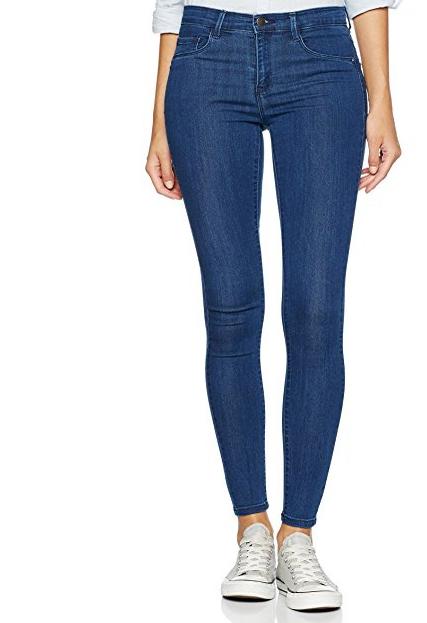 ONLY Damen Hose Onlrain Reg Skinny Jeans
