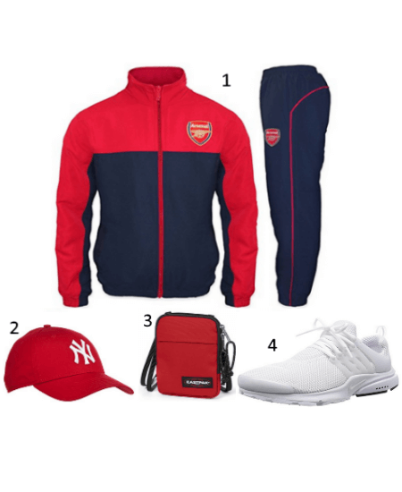 Arsenal Trainingsanzug Outfit