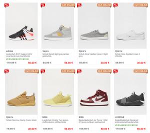 Marken Schuhe und Kleidung bis zu 70% REDUZIERT!