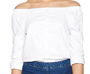 ONLY Damen Bluse Onldrew Offshoulder Shirt Noos