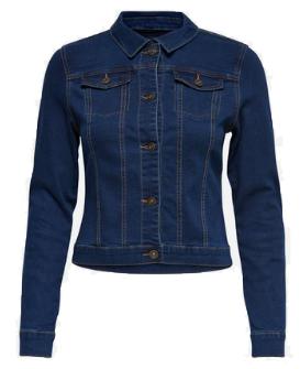 ONLY kurze Jeansjacke