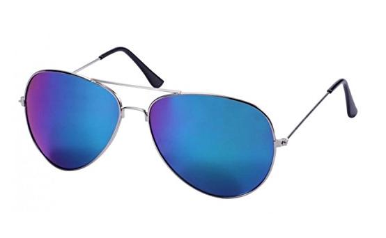 WODISON Vintage-Flieger-Sonnenbrille