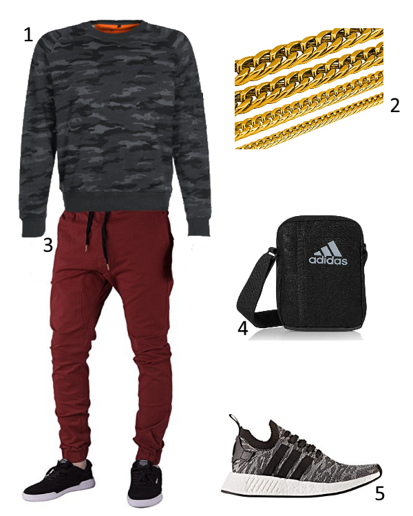Alpha Pullover Outfit