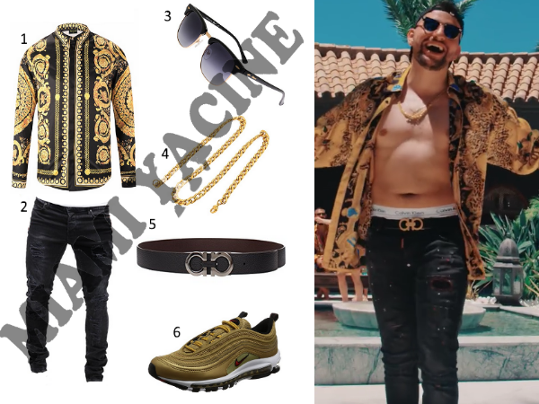Miami Yacine Bon Voyage Outfit