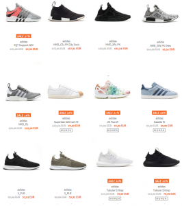 burner adidas flash sale