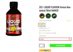 liquid flavour