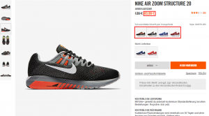 nike air zoom structure 20 sale