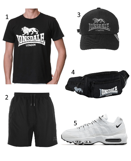 Lonsdale Outfit