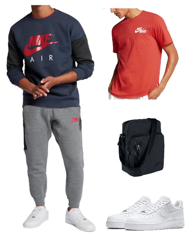 Nike Outfit Herren Vorschlag mit coolen Klamotten von Nike!