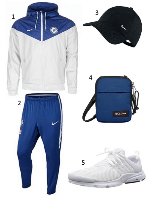 Chelsea Windrunner Outfit