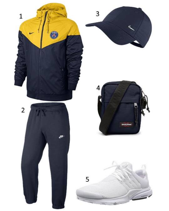 PSG Windrunner Outfit