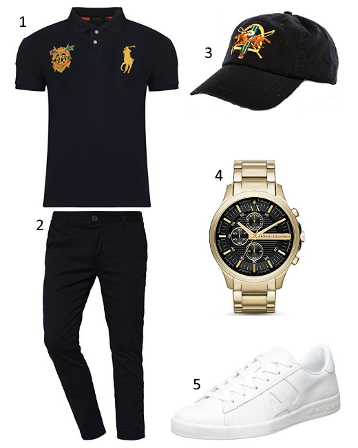 Ralph Lauren Polo Outfit