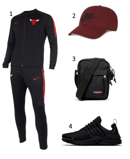 Chicago Bulls Trainingsanzug Outfit