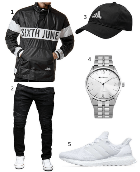 Sixth June Windbreaker Outfit