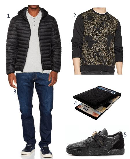 Versace Outfit für Männer