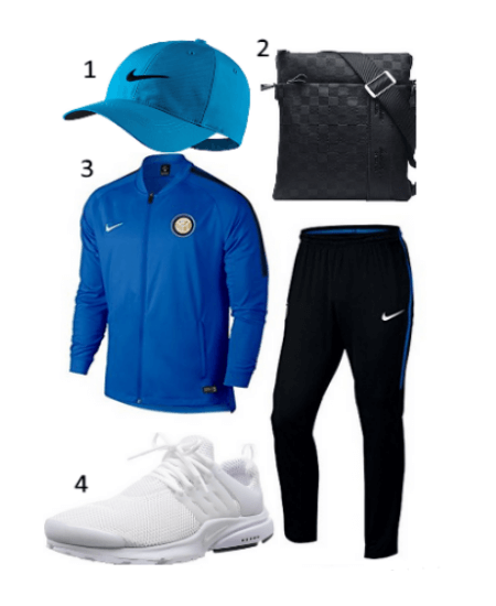 Inter Mailand Trainingsanzug Outfit