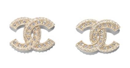Ohrringe Chanel Gold