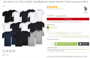 U.S. POLO ASSN. T-Shirt Sale