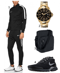 Nike-Sportanzug-Outfit