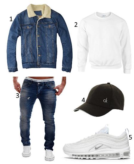 Jeansjacken Frühlings Outfit