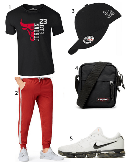 Basketball Shirt Outfit