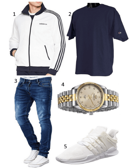 Beckenbauer Jacke Outfit