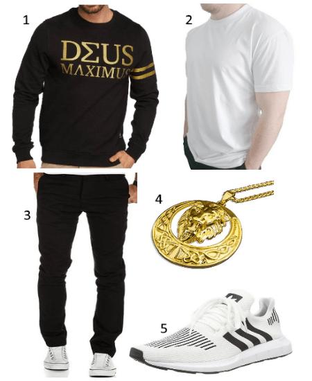 Deus Maximus Outfit