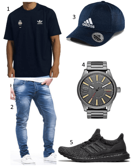 Football T-Shirt Outfit