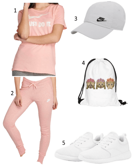 Rosa Sport Outfit
