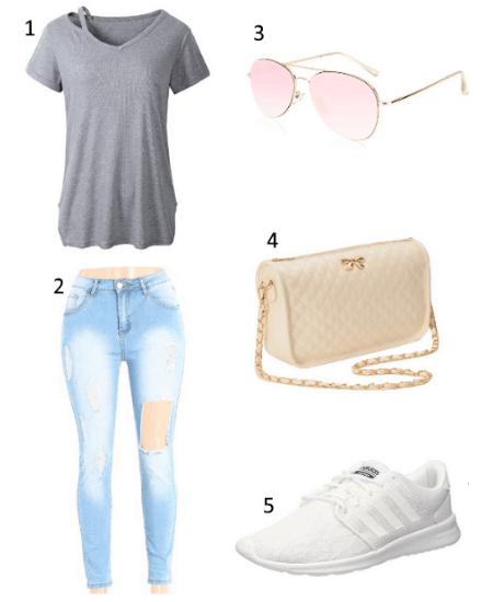Sommer Frauen Outfit