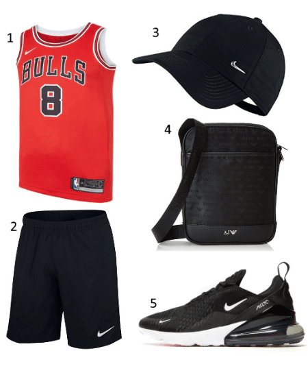 Chicago Bulls Jersey Outfit