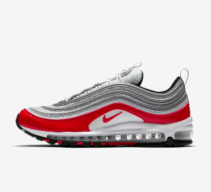 Nike Air Max 97 Silber Rot