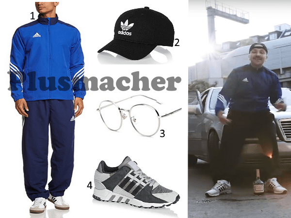 Plusmacher Trainingsanzug adidas