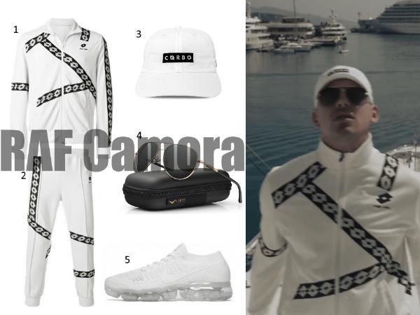 Raf Camora Trainingsanzug Fame Outfit