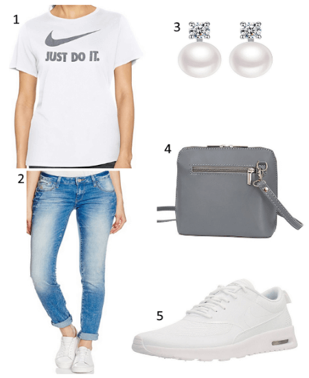 Sommer Outfit mit Nike T-Shirt