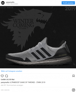 Game of Thrones Ultraboost