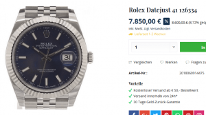 Inscope21 Rolex Datejust 41