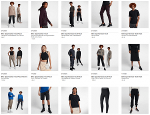 Nike Sportswear Tech Pack Kollektion Palmen aus Plastik 187
