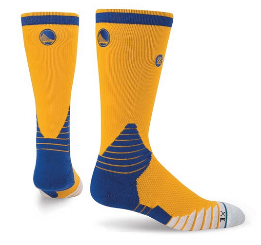 Socken NBA ONCOURT LOGO CREW WARRIORS