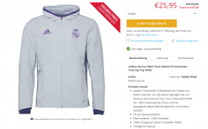 Real Madrid Jacke